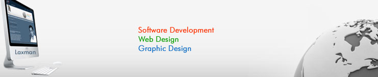 Laxman Bhattarai, Web Design, Graphic Design, Software Development.